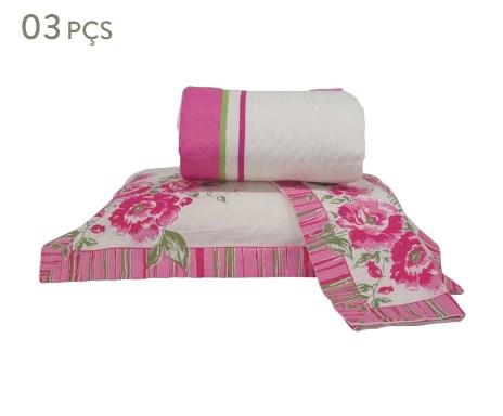 b7d9ce4261 ... Conjunto de cobre-leito garden para cama de casal Verificar  disponibilidade ...